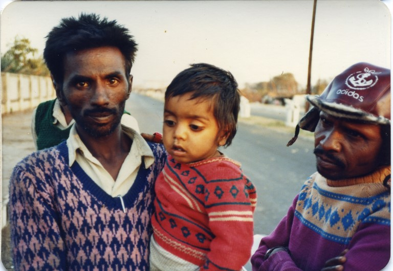 Bhopal, 1985, a Union Carbide worker who lost his wife in the chemical disaster