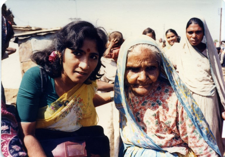 Bhopal 1985 Khumud Ini Mayur and victim