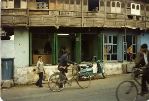 Bhopal 1985 street old city